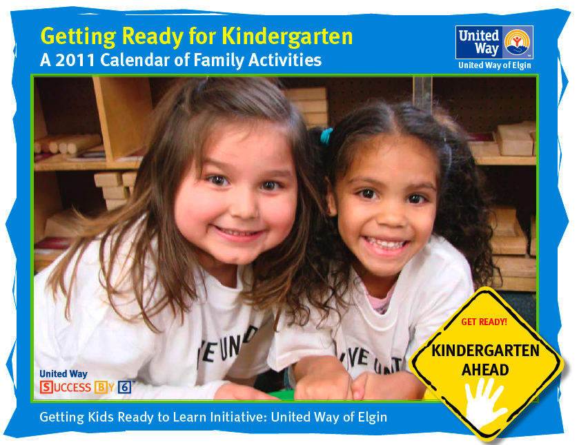 Kindergarten Readiness Calendar : Getting ready for kindergarten calendar available
